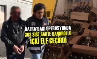 """Bafra'da """"Yılbaşı"""" Operasyonu Düzenlendi"""