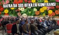 Bafra'da Süs Bitkileri Konferansı Yapıldı