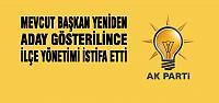 AK Parti'de 'İstifa' Depremi