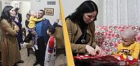 AK Parti'li Karaaslan'dan Felçli Kıza...