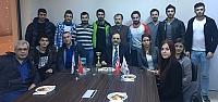 Bafra Turizm Derneği Başkan Şahin'i...