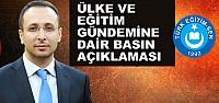 Bafra Türk Eğitim Sen'den Basın Açıklaması