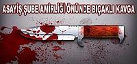 Bafra'da Bıçaklı Saldırı;  2 Yaralı