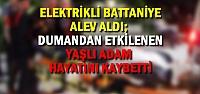 Bafra'da Elektrikli Battaniye Alev Aldı;...