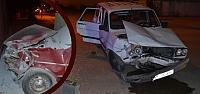 Bafra'da Trafik Kazası; 9 Yaralı