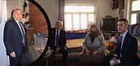 Bafra'da Yaşlılarımıza Şefkat Eli...