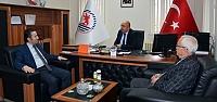 Başkan Kıyma'dan Prof. Dr. Demiryürek'...