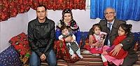 Başkan Yılmaz Ayşenur'u Köyünde Ziyaret Etti