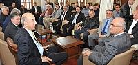 Başkan Yılmaz, Tekirdağ TSO Heyetini Ağırladı
