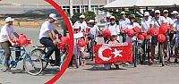 Bisikletliler Derneği'nden Bafra'da Zafer...