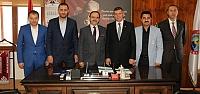 Bursa SAMDEF'ten Başkan Şahin'e Ziyaret