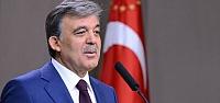 Cumhurbaşkanı Abdullah Gül'den Açıklama