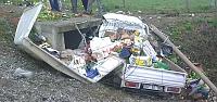 Etyemez Mahallesi Mevkiinde Trafik Kazası;...
