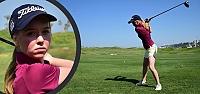 Genç Milli Golfçü Başkaya'nın Büyük...