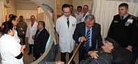 Kaymakam Arslan'dan Devlet Hastanesi Acil'e...