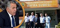 Kaymakam Arslan'dan Emekliler Derneği'ne...