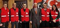 Kızılay Bafra Şubesi'nden Başkan Uyar'a...