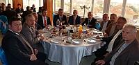 MHP Bafra Teşkilatı Muhtarlarla Yemek'...