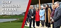 Samsun Golf Sahası'na Sümeyye Erdoğan'dan...