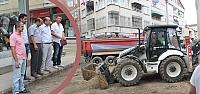 SASKİ Bafra'da Kanalizasyon Kazılarını...