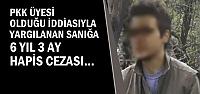 Terör Davasında Karar; 6 yıl 3 Ay Hapis...