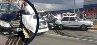 Tofaş Kavşağında Trafik Kazası : 4...