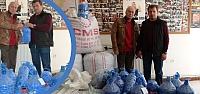TOFD Bafrra Şubesi'ne 300 Kile Mavi Kapak