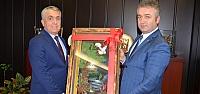Topaloğlu'ndan Rektör Bilgiç'e Ziyaret