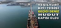 Yeşilyurt Kıyı Tesisi Geçici Deniz Hudut...