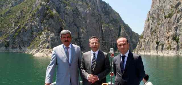 Vali Aksoy, Seyahat Acente Sahiplerine Vezirköprü'yü Gezdirdi