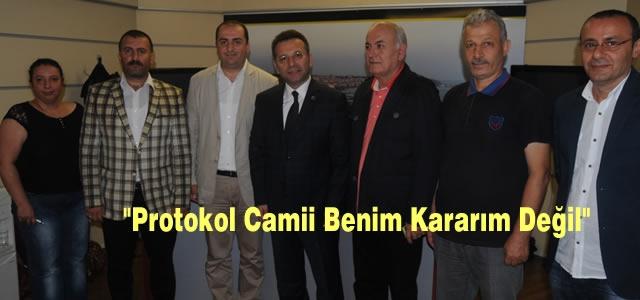Vali Hüseyin Aksoy Giderayak Konuştu