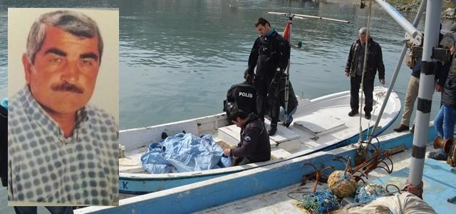 Yakakent'te Kayıp Balıkçının Cesedi Bulundu