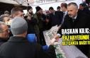 Başkan Kılıç; Pazar Yerinde Bez Çanta Dağıttı