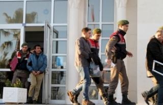 FETÖ şüphelileri Yunan adasına kaçmaya çalışırken...