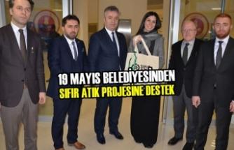 19 Mayıs Belediyesinden Sıfır Atık Projesine Destek