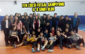 Fen Lisesi Futsal Şampiyonu 11- B Sınıfı