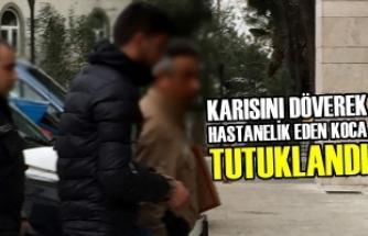 Samsun'da Eşini Darbettiği İddia Edilen Kişi Tutuklandı
