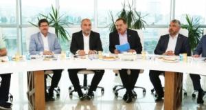 Başkan Mustafa Demir'den İlçe Belediye Başkanlarına