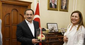 Samsunspor Yönetimi'nden Başkan Mustafa Demir'e Teşekkür