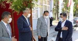 Bafra Protokolü; Ali Kale Turistlik Tesislerinde Bayramlaştı