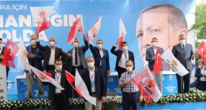AK Parti Bafra'da Av. İbrahim Semiz'le, Devam Dedi