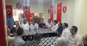 AK Parti Heyetinden Esenyurt'ta Alaçamlılar Derneği'ne Ziyaret