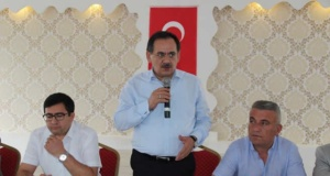 Alaçam'da Mahalle Muhtarları, İstişare Ve Değerlendirme Toplantısı