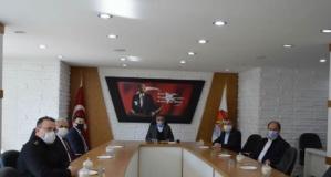 Vali Osman Kaymak Havza'daki Kontrol Noktasında İncelemelerde Bulundu