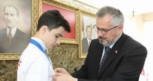 Başkan Kılıç, Buğra Aktaş Gururumuz Oldu