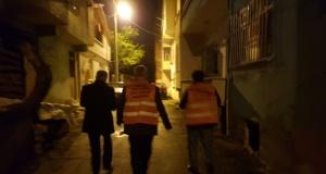 Bafra'da Yardım Kolileri Evlere Teslim Ediliyor