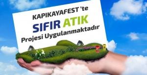 Türkiye'nin Sıfır Atık Temalı İlk Festivali: Kapıkayafest