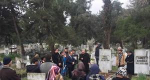 İsmail Hakkı Ahıskalı; Mezarı Başında Dualarla Anıldı