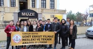 """""""Samsun Turizm Elçisiyim"""" Projesi Bafra ve Alaçam Müzelerinde"""
