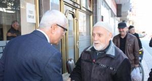 Rızvan Aksoy; Tekel Caddesi Esnafını Gezdi